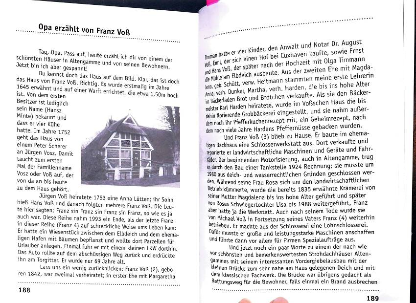 Die Geschichte des Voß'schen Hauses - Haus Anna Elbe